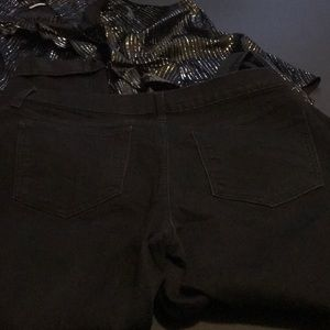 Old Navy Jeans - Black Old Navy Sweetheart fit